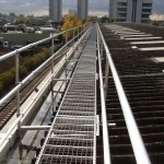 Combined walkway, gutter access and edge protection