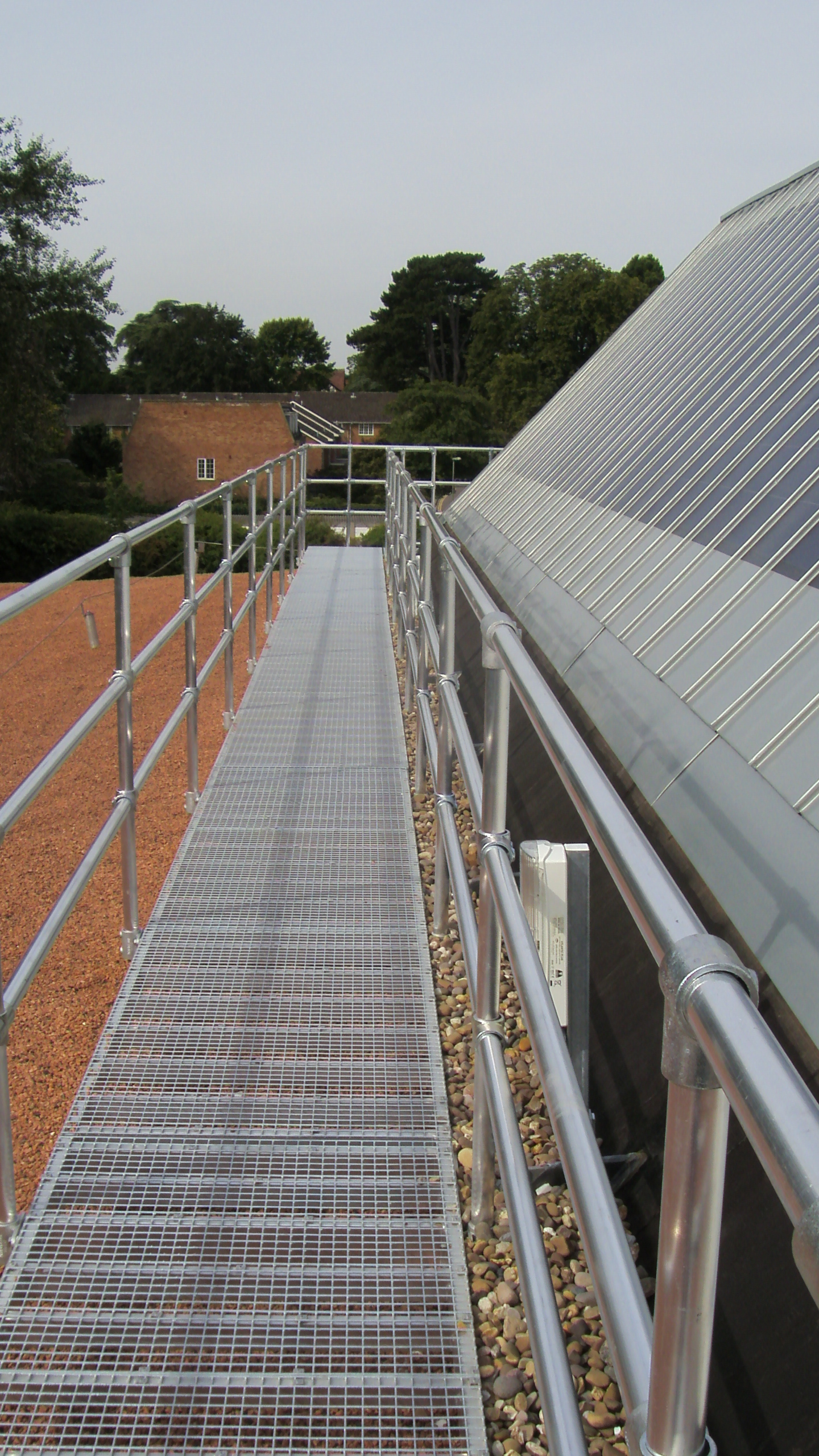 Walkways And Guardrails Mcd Design Supply And